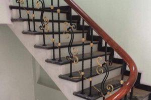 Cầu thang sắt 22