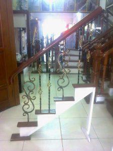 Cầu thang sắt ms31