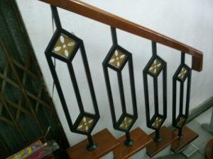 Cầu thang sắt ms29